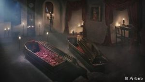 Dracula Night Coffin