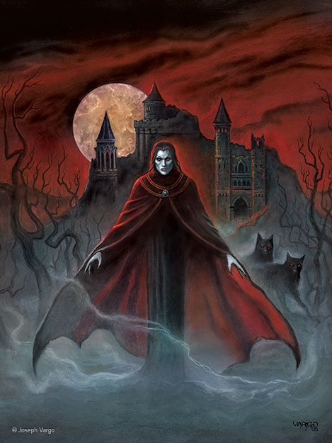 Dracula Castle and Transylvania Vampires