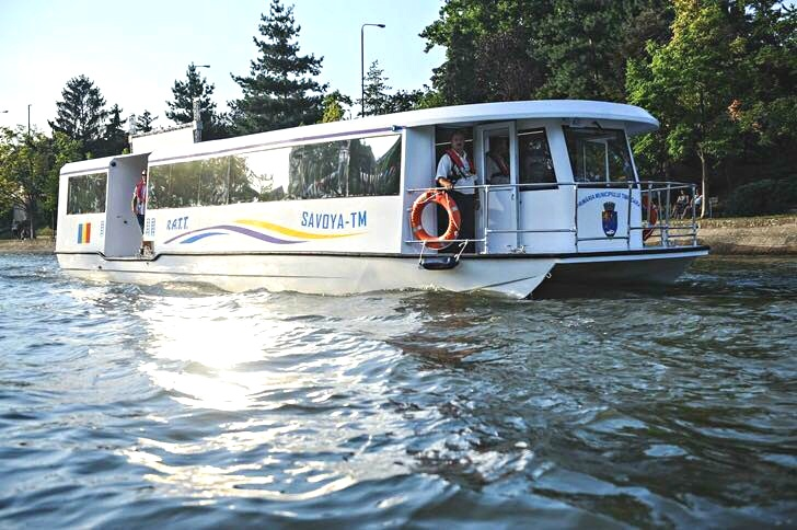 Things to do in Timișoara: take the public transport on water