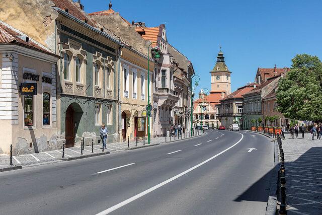 get to Transylvania Brasov