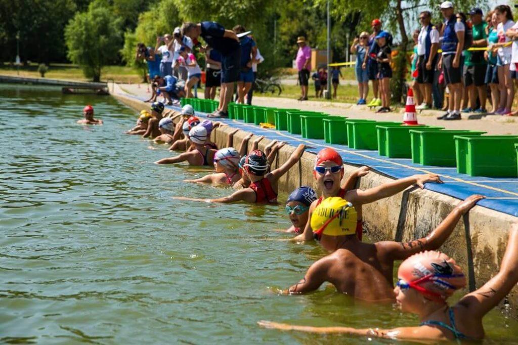 Romania Kids Triathlon competition in 2018