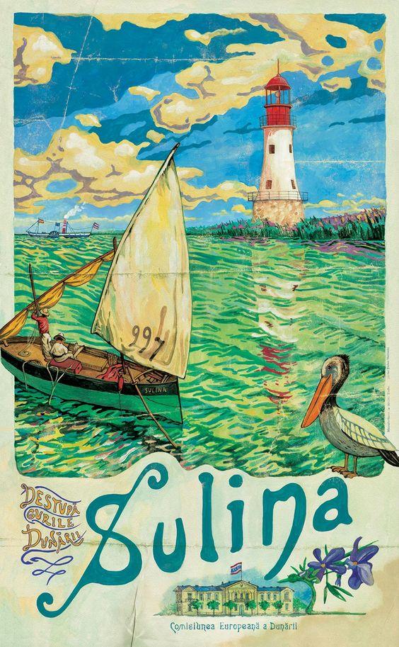 Danube Delta poster