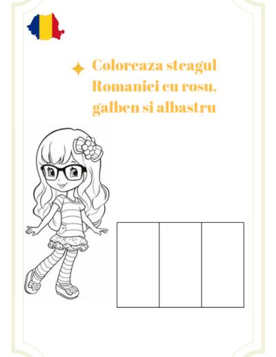 Flag Girl RO
