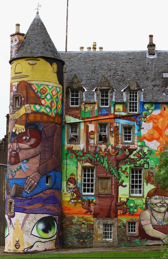 European Castles - The Kelburn Castle in Scotland