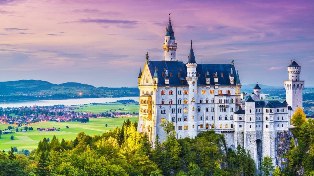 European Castles - The Neuschwanstein Castle in Germany