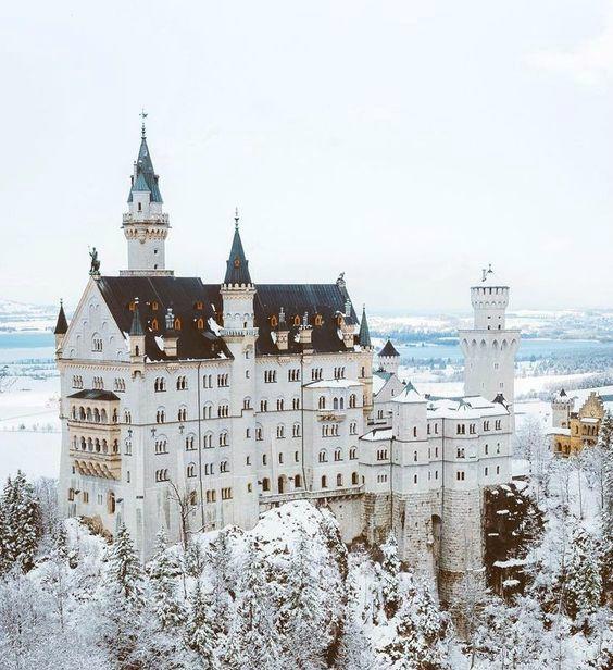 European castles Neuschwanstein