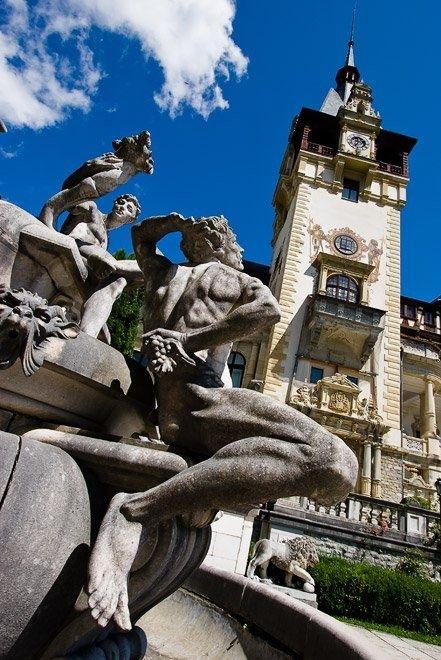 Transylvania castles Peleș