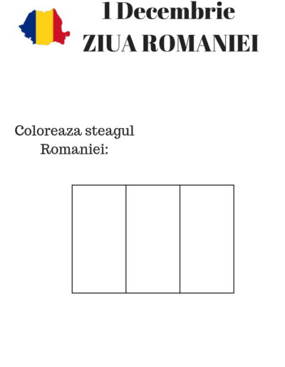 Romania Flag National Day RO