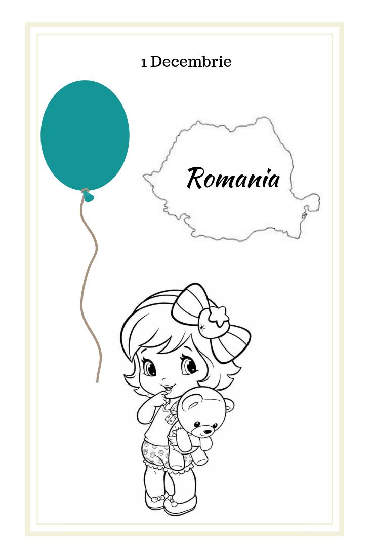 Romania for kids December 1st