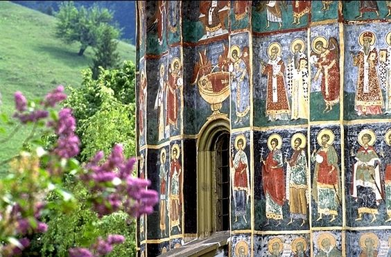 painted monasteries of Bucovina