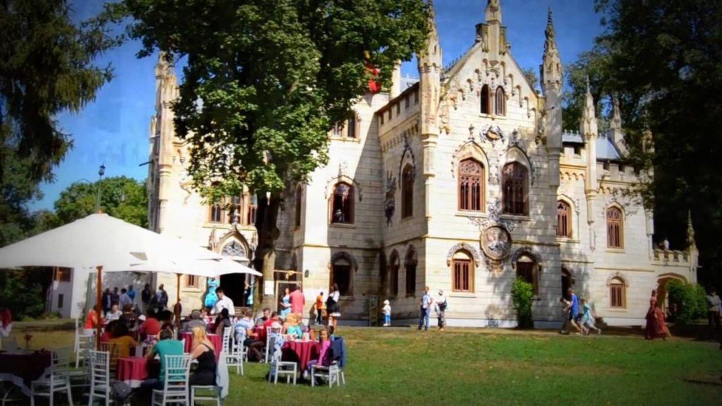 Romanian castles the Sturdza Palace