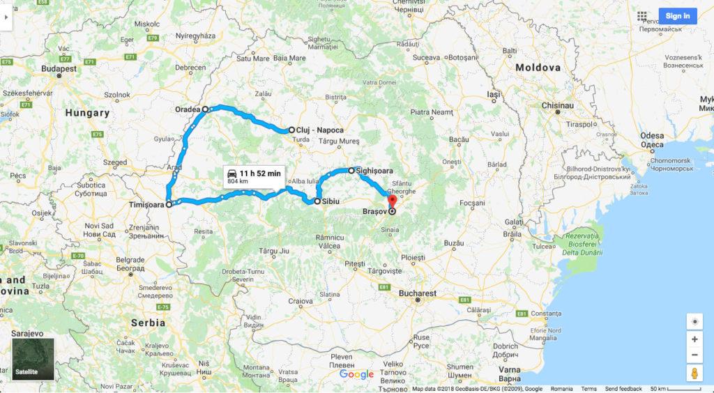Transylvanian cities tour