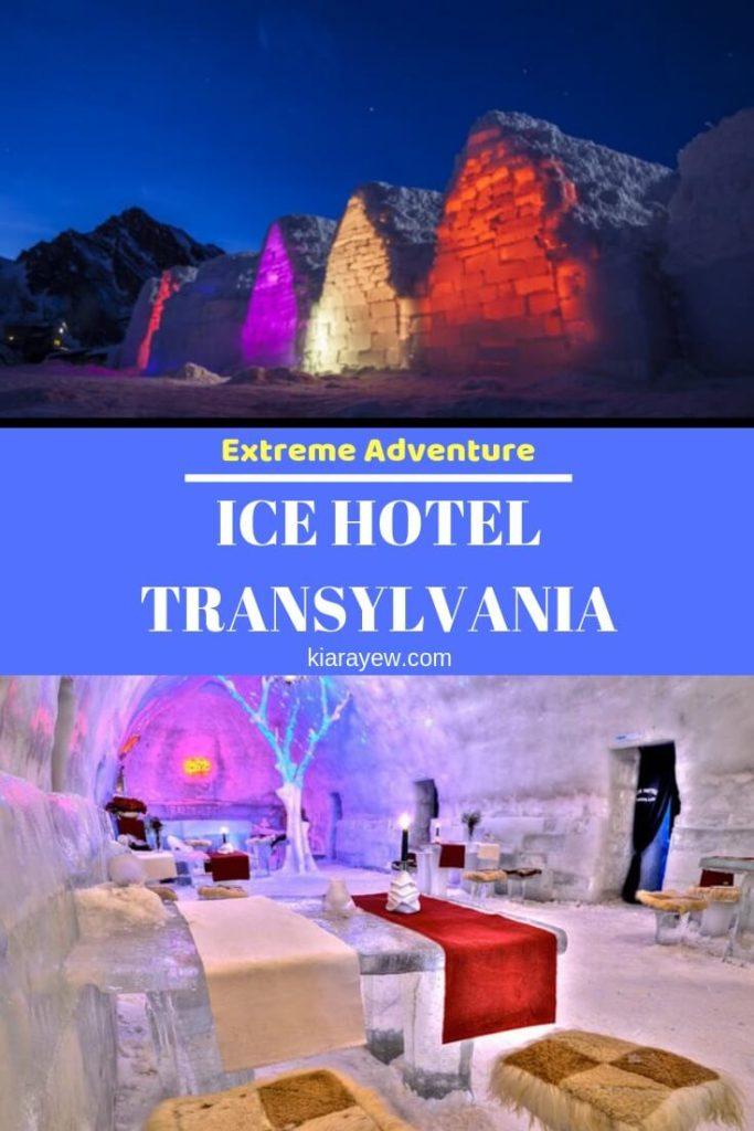 Transylvanian ice hotel