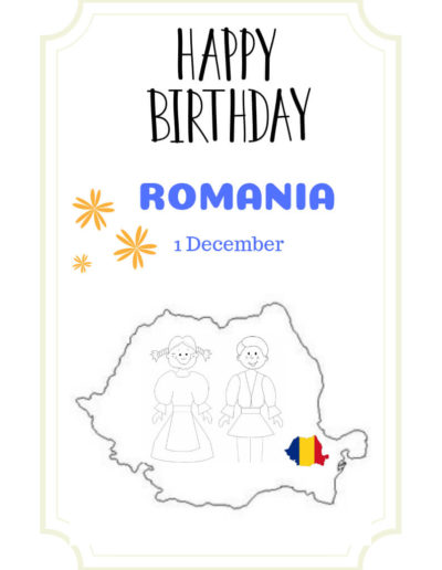 Happy National Day Romania!