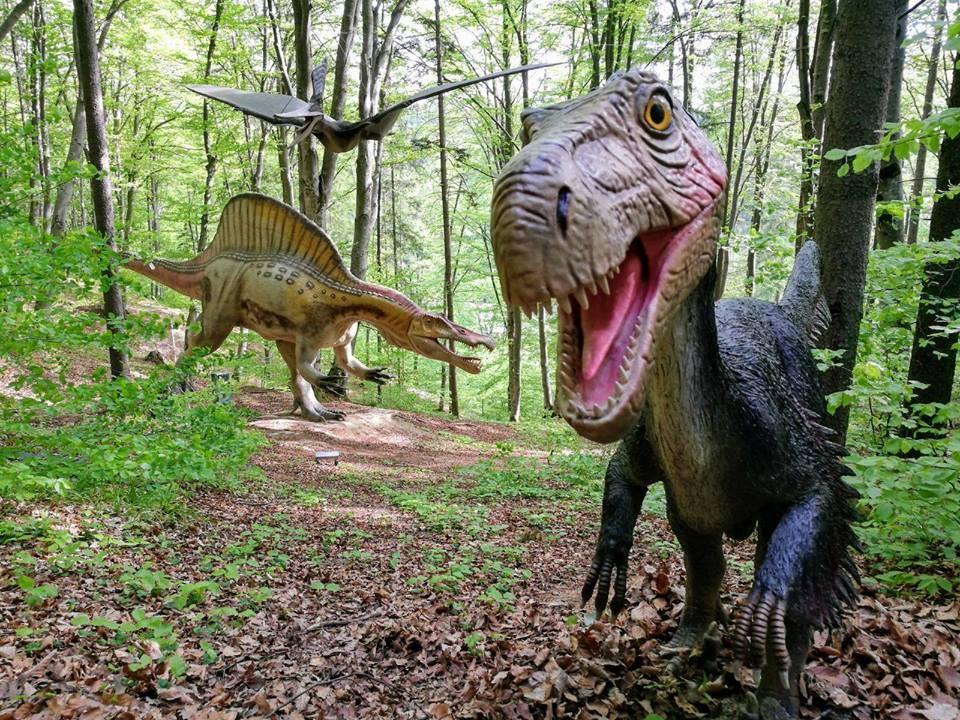 Romanian dinosaur park