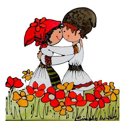 Traditional romanian love