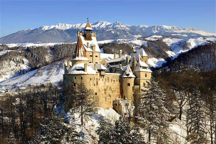 Winter at Transylvania Dracula Castle