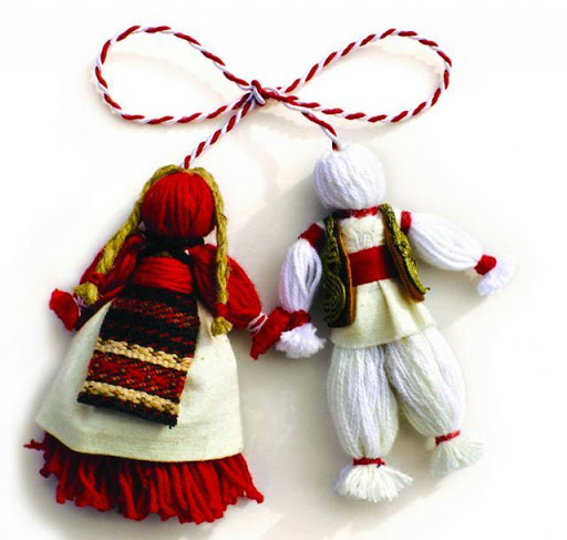 Traditional Romanian Martisor