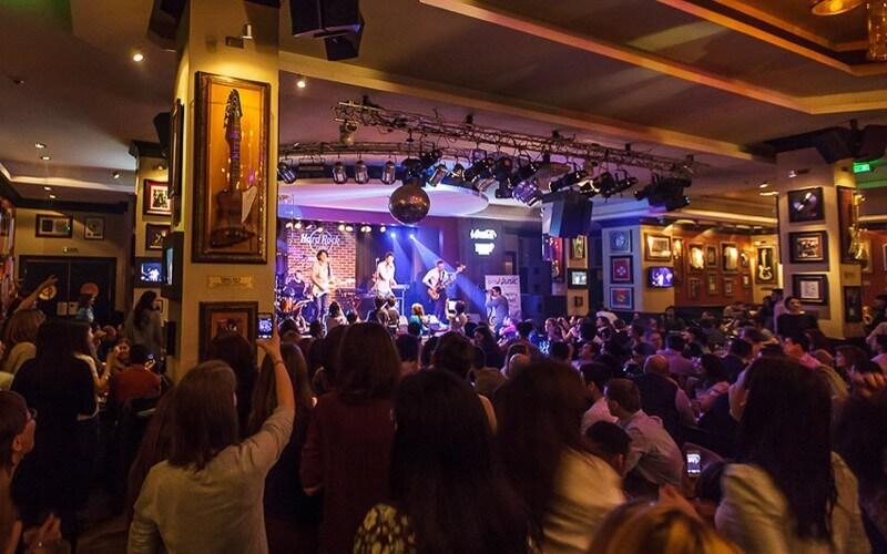 live music hard rock cafe