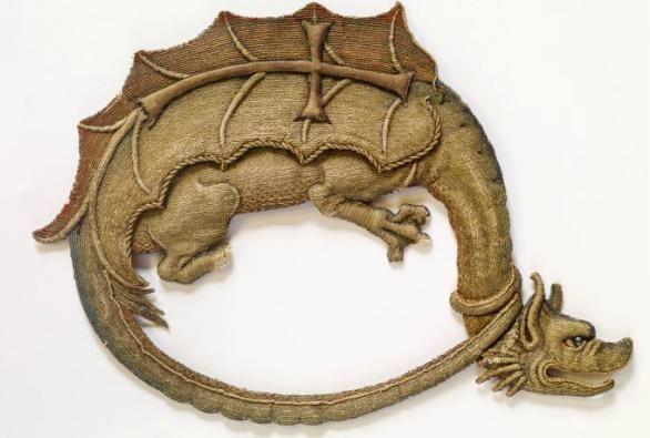 Romanian dragons patch