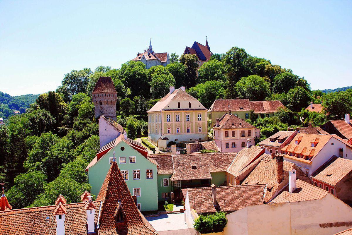 get to Transylvania Sighisoara