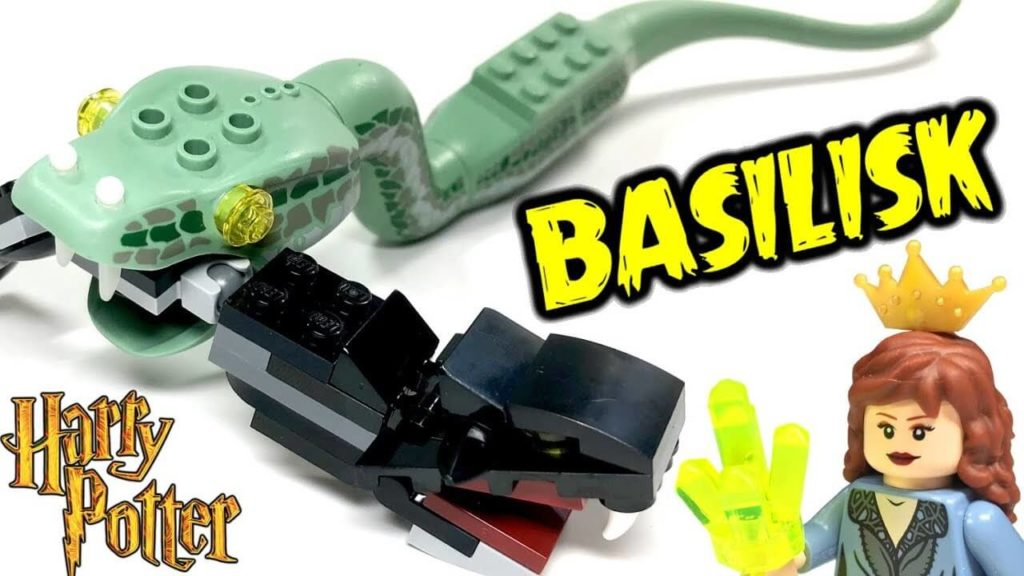 basilisk snake harry potter lego