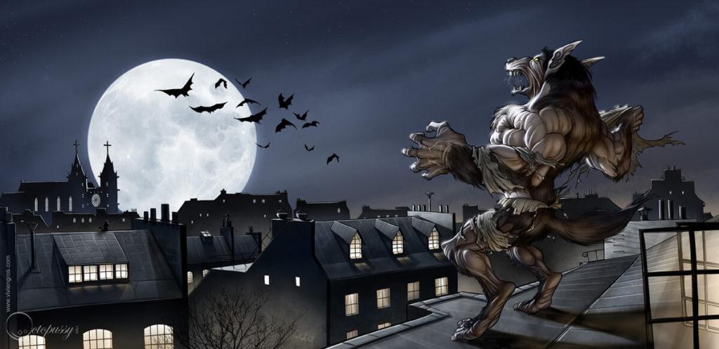 the werewolf legends digital art